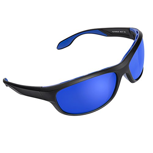Quntis Polarized Sports Sunglasses for Men Women, TR90 Superlight - Swiss Brands Sunglasses