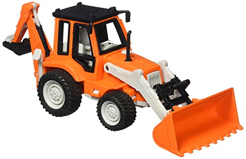 Driven Mini Backhoe Loader Vehicle