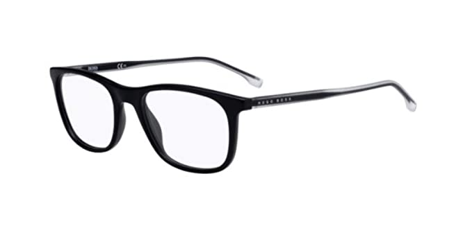 BOSS HUGO 0966 003 52, Gafas de sol para Hombre, Negro (Matt ...