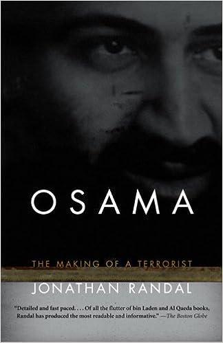 Osama: The Making of a Terrorist by Jonathan Randal (2005-09-13)