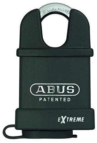 Abus Cadenas 571084-83WPCS//55 en acier tremp/é avec cylindre et interchangeable rev/êtement Nano protect 53 mm arc prot/ég/é