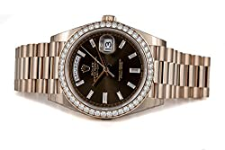 Rolex Oyster Perpetual Everose Gold Watch