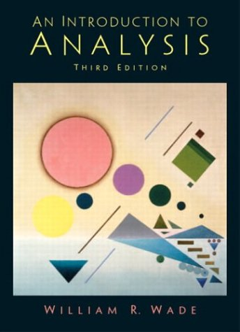 Introduction to Analysis (3rd Edition)