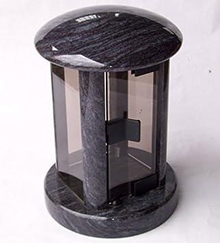 designgrab Tao Lampe Funéraire en granit Orion BlueCoromandelBahama Blue Lampes funéraire Tombe Lampe Lanterne Funéraire Tombe Lampe Lampe de