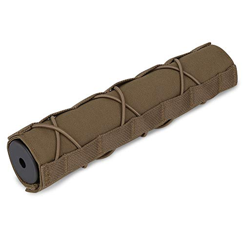 KRYDEX Tactical Airsoft Suppressor Cover 8.66 inch / 22cm Airsoft