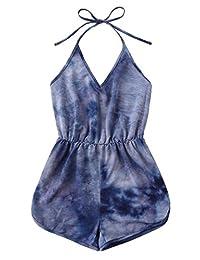 SweatyRocks Women's 2 Piece Sexy Lace Strap Bralette Bra and Panty Lingerie Set