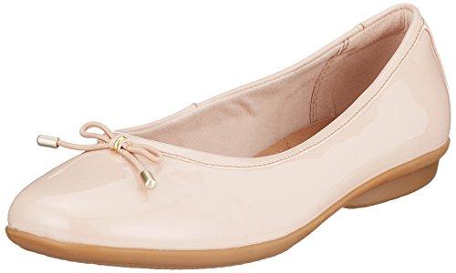 Clarks Gracelin Blu Gesloten Ballerina Roze (oudroze)