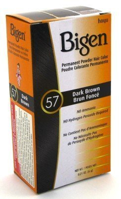 Price comparison product image Bigen Powder Hair Color #57 Dark Brown .21 oz. (Case of 6)