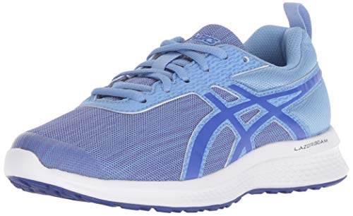 ASICS Kids Girl's Lazerbeam EA (Little Kid/Big Kid) Blue Bell/Imperial 4 M US Big Kid ()