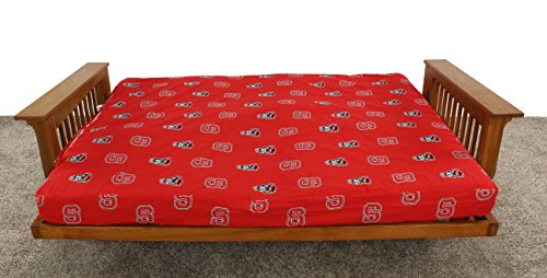 College Covers North Carolina State Wolfpack Futon Lounge Cover, Full by College Covers (Image #2)