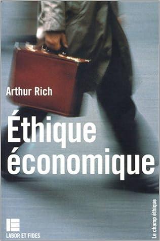Téléchargement L'éthique économique pdf epub