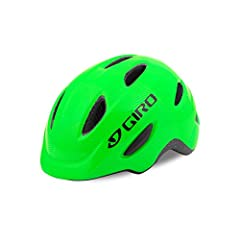 The Scamp is packed with amazing features, including some of the same elements found in our best adult helmets, all in a smaller package designed to fit your child. The Roc Loc Jr. fit system with pinch-guard buckle provides an easy way to fi...