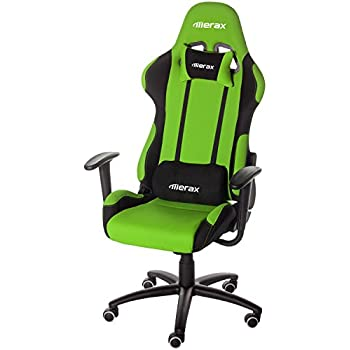 Amazon Com Merax Adjustable High Back Gaming Racing Style Chair