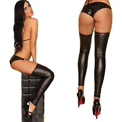 Sexy Dance Lingerie Wet XSQR Donna Club Clubwear Look Pole Night Black Black HqEwwzUxT