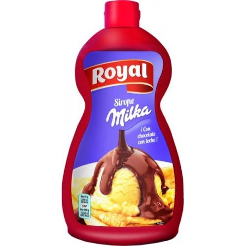 Sirope Royal Chocolate Milka 950gr