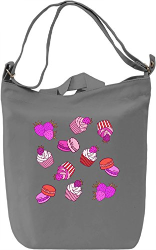 Pink Sweet Desert Borsa Giornaliera Canvas Canvas Day Bag| 100% Premium Cotton Canvas| DTG Printing|