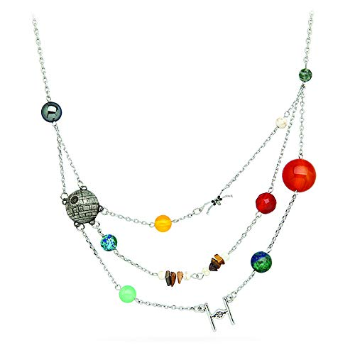 Think Geek Star Wars Planetary Galactic Necklace -