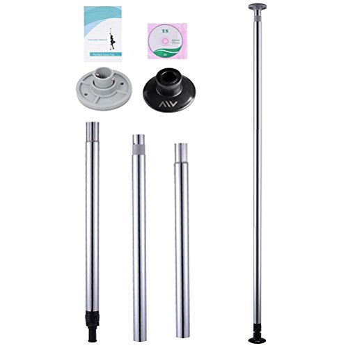 Beth Home AW Portable Dance Pole Kits DJ Club Party Dancing Gym Fitness Exercise Sport by Beth Home