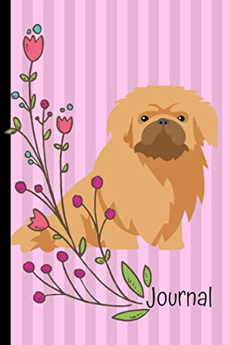 Journal-Gratitude-Journal-6×9-100-Pages-Pekingese-Dog-Pink-Cover