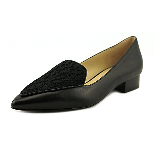 Cole Haan Womens Dellora Skimmer Leather Pointed Toe Slide Flats Black Lace pfW1qCIz