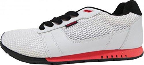 Osiris Skateboard Schuhe Retron White/Black/ Red