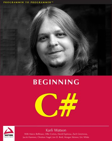 Beginning C#  (Beta 2 Edition) by