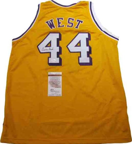 Jerry West Autographed Signed Lakers Jersey