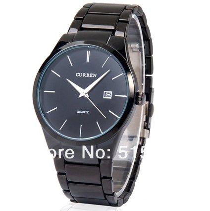 Relojes Curren 8106 para hombre reloj para hombre Hombre watch-5 de cuarzo analógico de acero de tungsteno: Amazon.es: Relojes