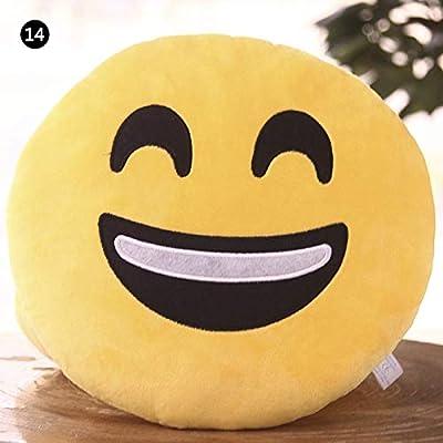 Amazon.com: Keu_20 Almohadas Decorativas - Cojín suave Emoji ...