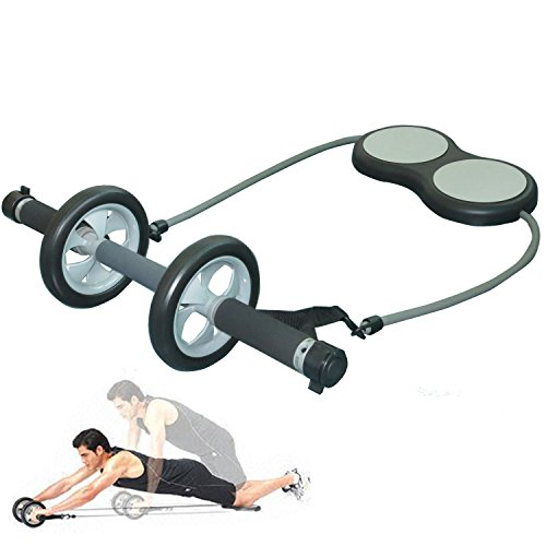 Cheap Primary Abdominal Exercise Wheel with Supporting Knee Pad Total Body Training