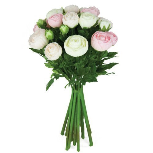 FloristryWarehouse-Artificial-silk-flowers-Ranunculus-arrangement-15-stems-13-inches