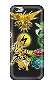 Angoward Scratch-free Phone Case For Iphone 6 Plus- Retail Packaging - Pokemon