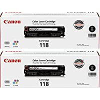 Canon Brand 118 Black Cartridge Value Pack (2 Black...