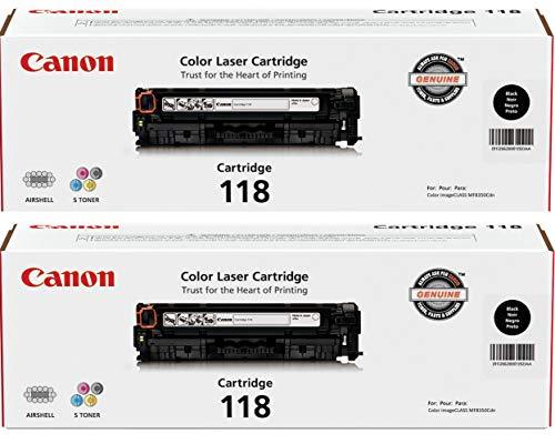 Canon Brand 118 Black Cartridge Value Pack (2 Black Cartridges)