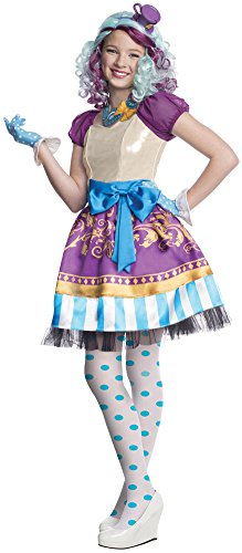 Girls Halloween Costume- Ever After High Madeline Hatter Kids Costume XLarge -