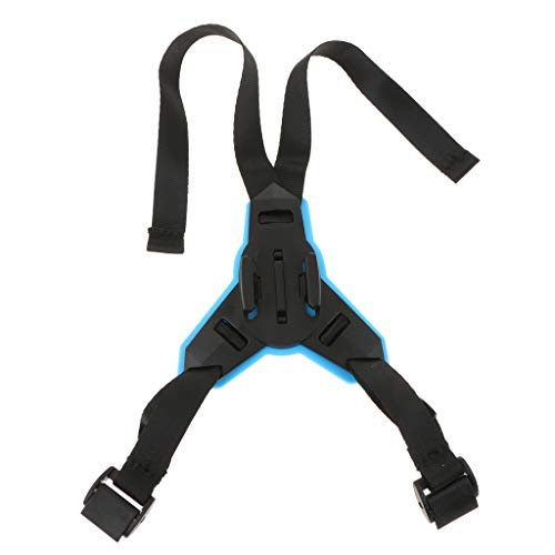 Prettyia Helmet Strap Mount Motorcycle Front Chin Mounting for GoPro SJCAM