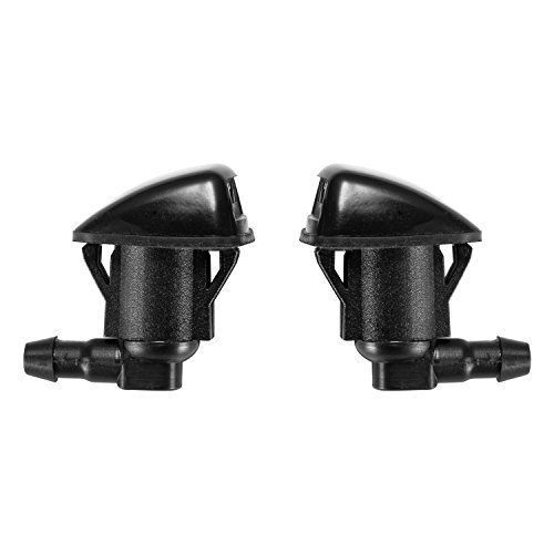 2 Front Windshield Washer Nozzle Jet Kit fit for 2004-2010 Toyota Sienna, Replacement for Part # 85381-AE020