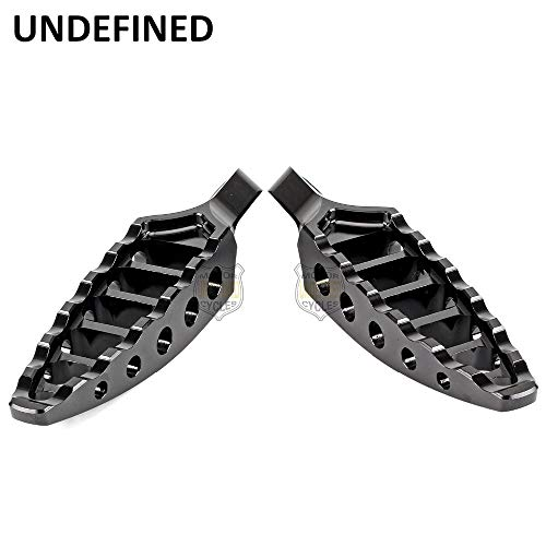 45 Degree Male Mount - Frames & Fittings Motorbike Parts 1Pair Black CNC 45 Degrees Male-Mount Aluminum Footrests Foot Pegs for Harley Dyna Fatboy Fxd Yt