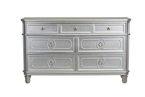 (Standard Furniture 87309 Windsor Silver Dresser, 64
