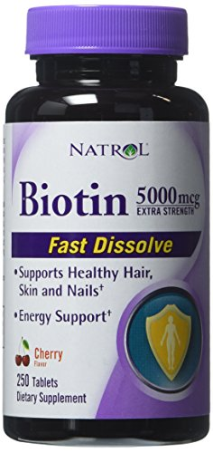 Natrol Biotin 5000mcg Extra Strength 250 Ct.