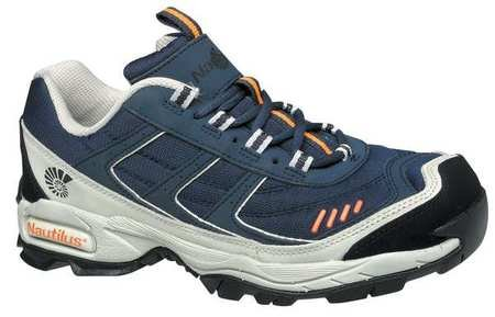 Athletic Style Work Shoes, Men, 10W, Nvy, PR