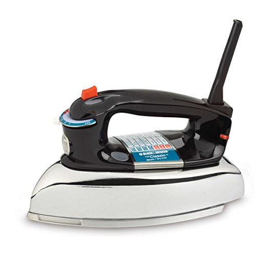 Black & Decker Clothes Iron 1100 W Aluminum by BLACK+DECKER