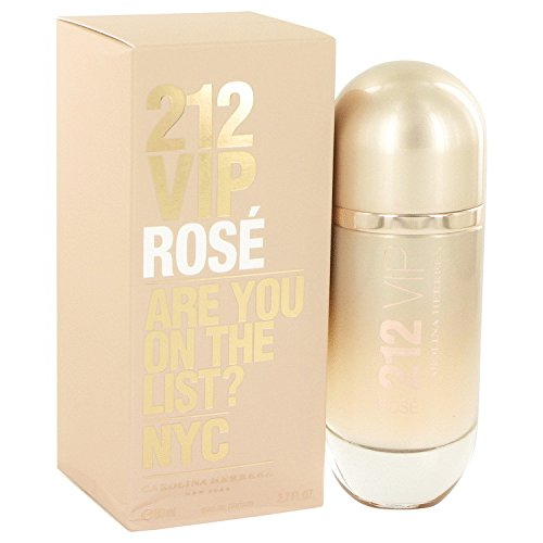 212 Vip Rose Perfume by Carolina Herrera Eau De Parfum Spray 2.7 oz For Women [WP] Free! Lempicka 0.17 oz Mini EDP (Ch Carolina Herrera Belt compare prices)