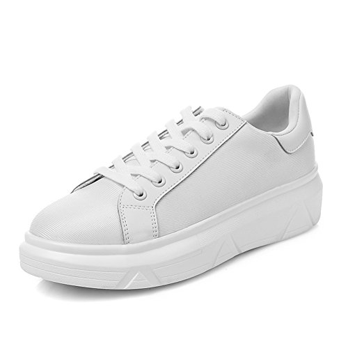 À Loisirs De Plat Coréenne chaussures Blanches Épaissir Printemps Semelles Chaussures chaussures Femmes Filles chaussures Au A Espadrilles xx4PR80