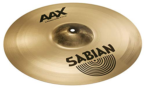Sabian 16-Inch AAX X-Plosion Crash Brilliant Finish Cymbal