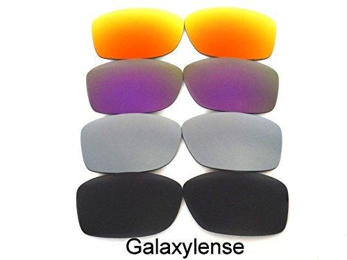 verres de rechange pour Oakley Jupiter Squared Noir   Gris   MAUVE   rouge  4 paires e16eba5cc96f