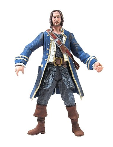 Disney Pirates Of The Caribbean Dead Mans Chest: Captain Norrington with Pistol & (Pirates Of The Caribbean Pistols)