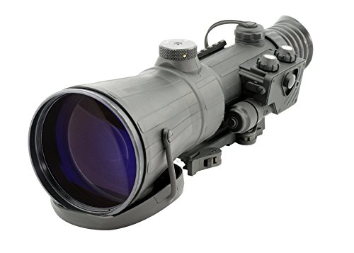 (Armasight Vulcan 8X 3P MG - Professional 8X Night Vision Rifle Scope Gen 3; High-Performance Thin-Filmed Auto-Gated IIT with Manual Gain with XLR-IR850 Extra Long-Range Infrared Illuminator)