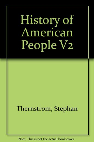 History of American People V2