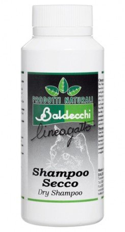 Baldecchi Linea Gato Shampoo Seco de Polvo 100 gr. - Dry Shampoo: Amazon.es: Productos para mascotas